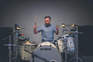 Drum noise too loud