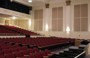 Acoustic Sound Panels to Capture Echoes in an Auditorium or Sanctuary