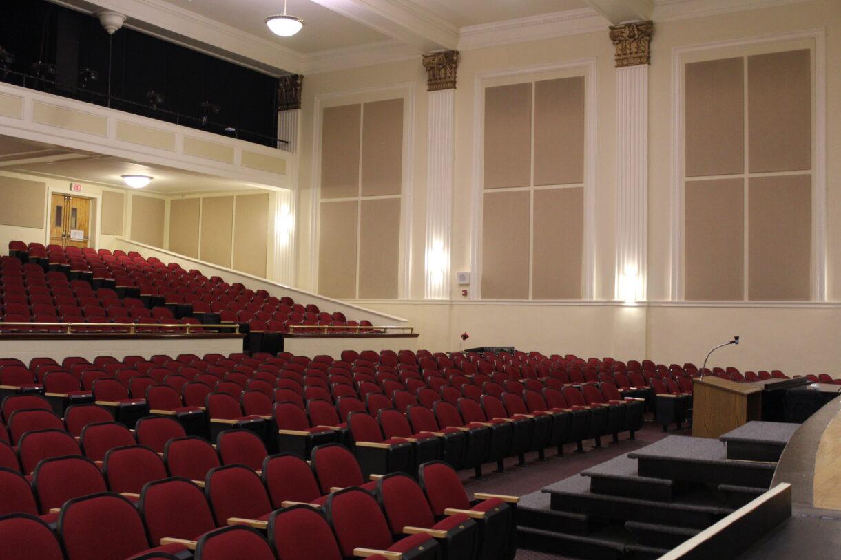 soundproofing for auditorium acoustics