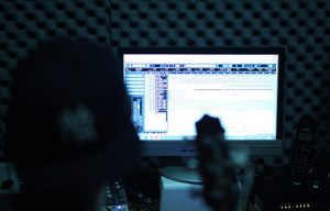 sound panels in a studio control reverberations to maximize sound quality