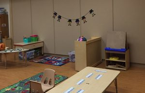 classroom sound proofing with tall acoustic wall panels that are also tack-able