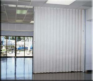 acoustic folding partitions | curtitions