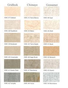 acoustic curtains color choices
