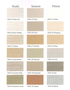 acoustic screen color options