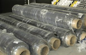dB-Bloc rolls for sound isolating common walls with noise bleed
