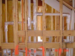 NetLag duct wrap for noise reduction
