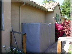 loud air conditioner gets sound blanket treatment