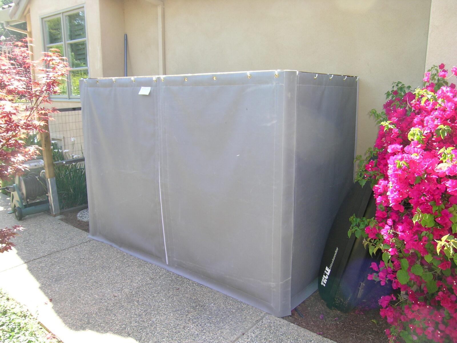 noise control blankets for loud AC unit