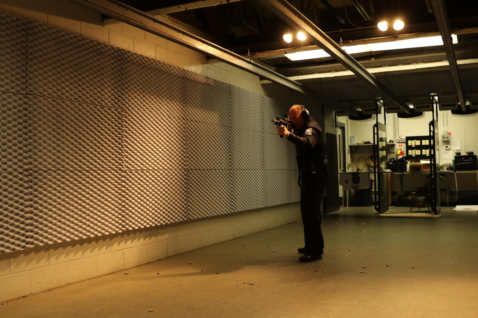 indoor gun range noise control