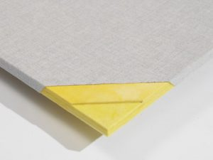 Acoustic Treatment Panels using a Tackable Wall Panel