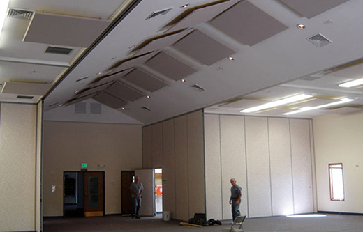 Ceiling And Mounted Sound Dampening Panels For A