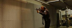 fireflex sound panels control noise exposure levels in a gun range