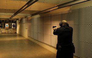 soundproofing a loud indoor gun range with acoustic panels