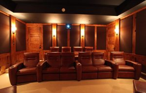 sound panels in acoustic home theater improve sound quality for soundproofing a home theater