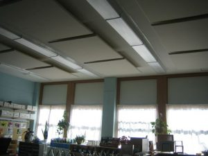 improve classroom acoustics with sound panels to control noise
