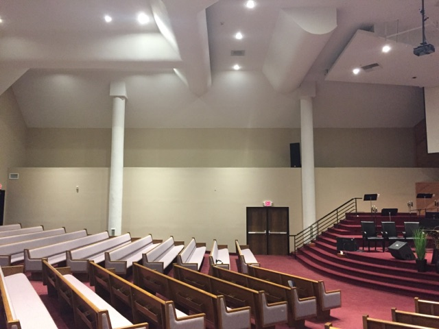 house of worship sound control with acoustic panels