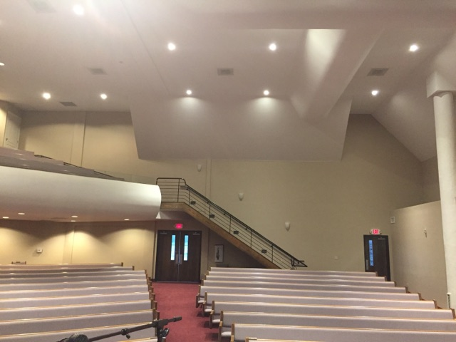 quality sanctuary sound produced with acoustic sound panels