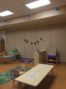 classroom soundproofing with FabricTack panels