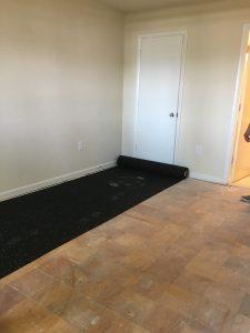 soundproof a floor with floor underlayment