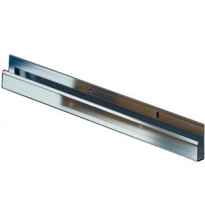 J channels support wall mounted sound panels
