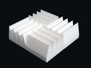 Anechoic Foam Panels Deaden Sound Reflections