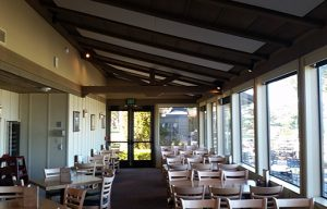 restaurant soundproofing with sound panels that retrofit to a ceiling