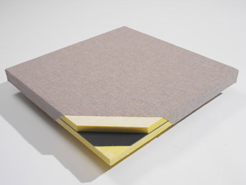 FabricBloc panels block sound bleed and absorb echo