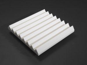 linear wedge acoustical foam