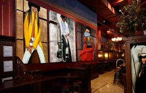 Soundproofing a Loud Bar with Decorative Acoustic Art Panels