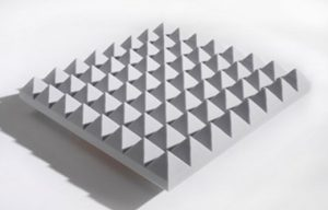 Pyramid Acoustic Foam Panels Made of Melamine Foam for Soundproofing