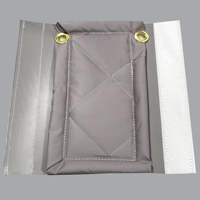 Tan outdoor sound blanket