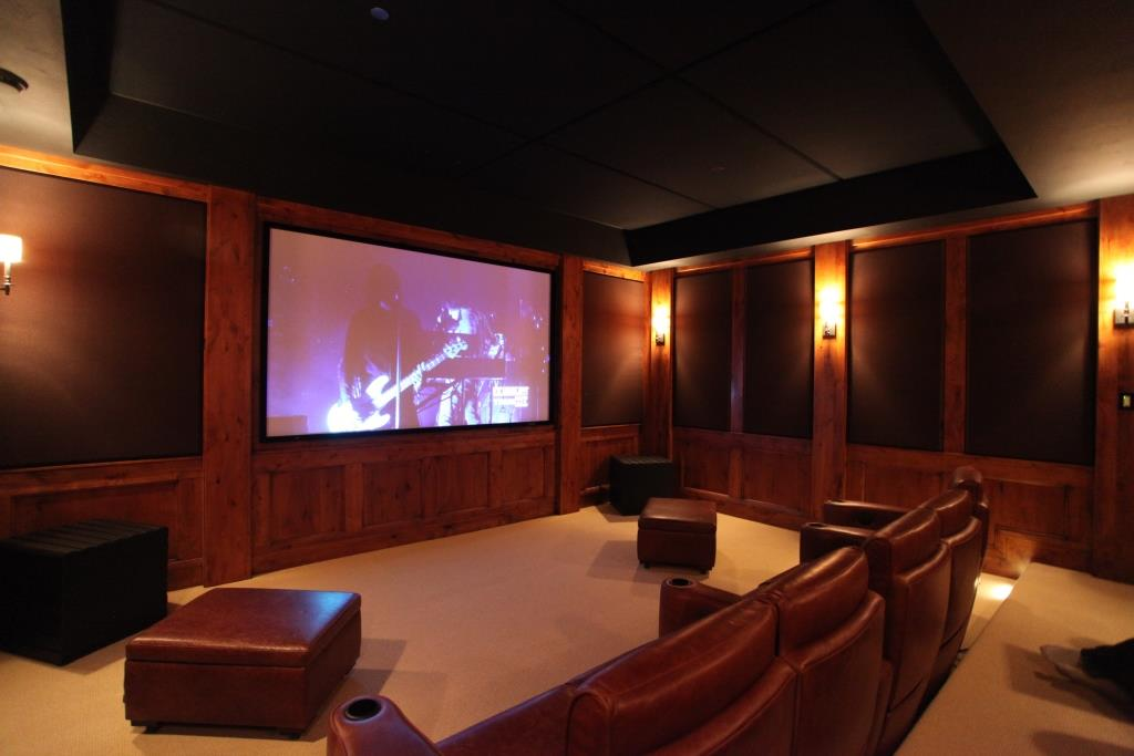 soundproofing panels improve room acoustics in Home Theater