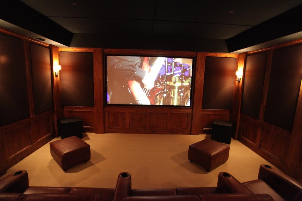 premium sound quality in home theater with soundproofing panels