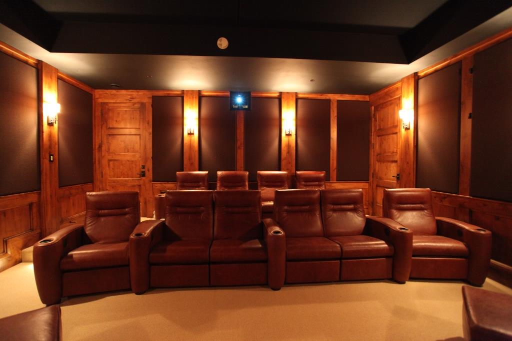 home theater sound panels control low base reverberation