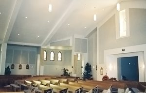 acoustic wall panels controlling echoes in a loud sanctuary for premium sound quality