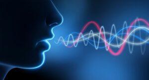 Voice sound waves