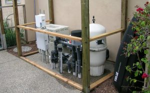 pool pump soundproofing for noise control of a pool pump