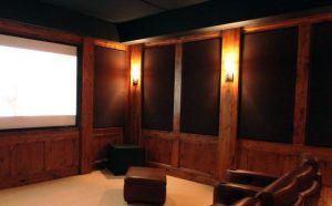 home theater sound panels deliver premium sound quality in a home theater