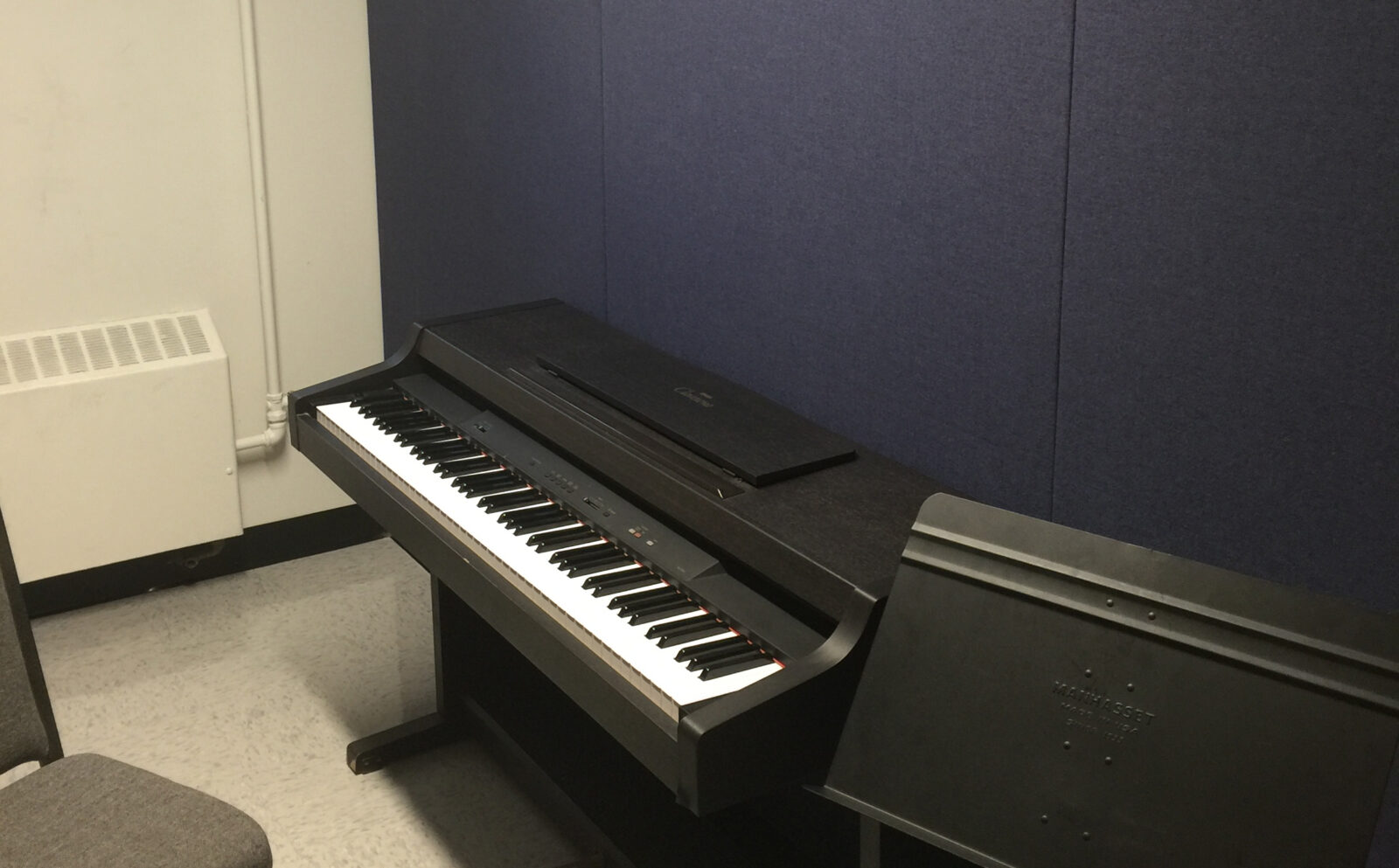 music room soundproofing with NetWell sound panels