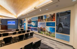 conference room soundproofing with imaged wrapped designer sound panels