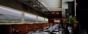 controlling restaurant noise with custom imaged sound panels