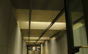 indoor gun range noise control with NetWell sound panels