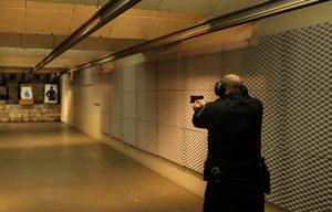 indoor gun range soundproofing with acoustic foam panels