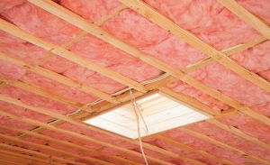 batting insulation in a ceiling does not soundproof the ceiling