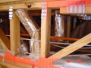 sound insulation jackets designed to wrap around ductwork for soundproofing a room with loud ducts