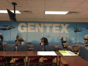 Branding a conference room with custom imaged sound panels