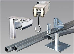 hardware for hanging noise control curtains