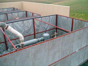 outdoor sound barrier panels