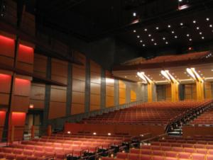 Auditorium acoustics design at use in the space