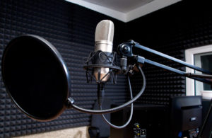 recording studio sound quality controls reverb